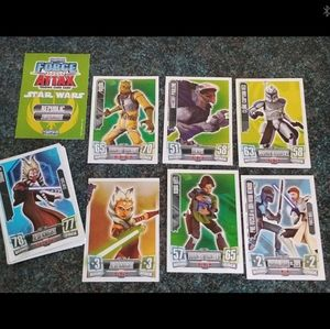 Star Wars Force Attax Topps Trading Cards